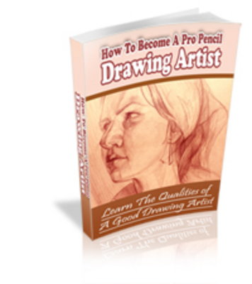 Product picture How To Become A Professional Pencil Drawing Artist