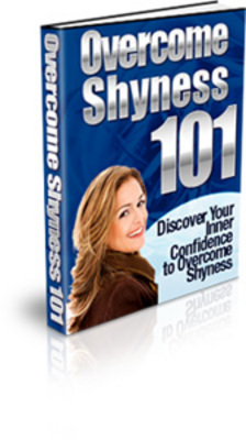 Product picture Overcome Shyness 101-PLR